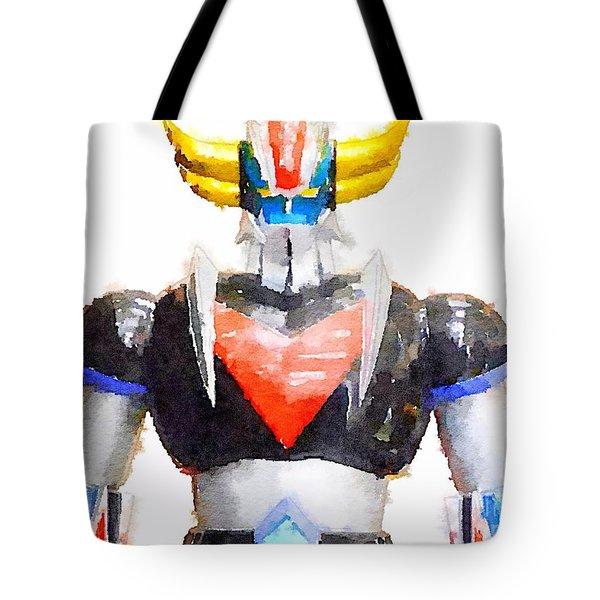 The Goldorak Tote Bag