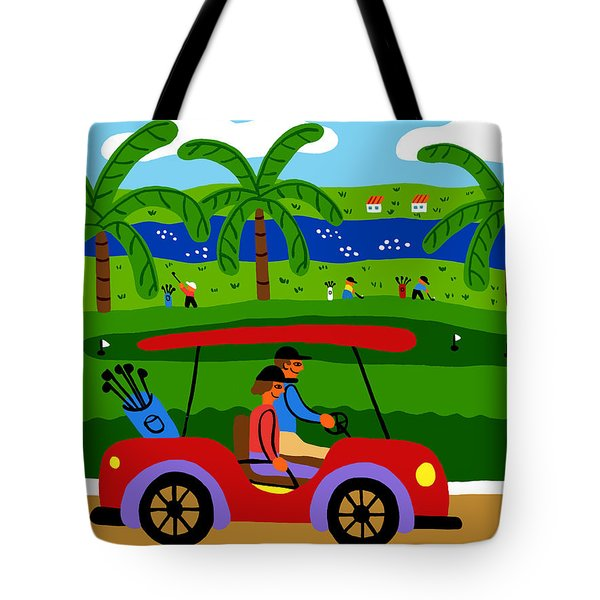 The Golfers Tote Bag