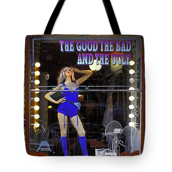 The Good Bad And Ugly Tote Bag by Bruce Bain