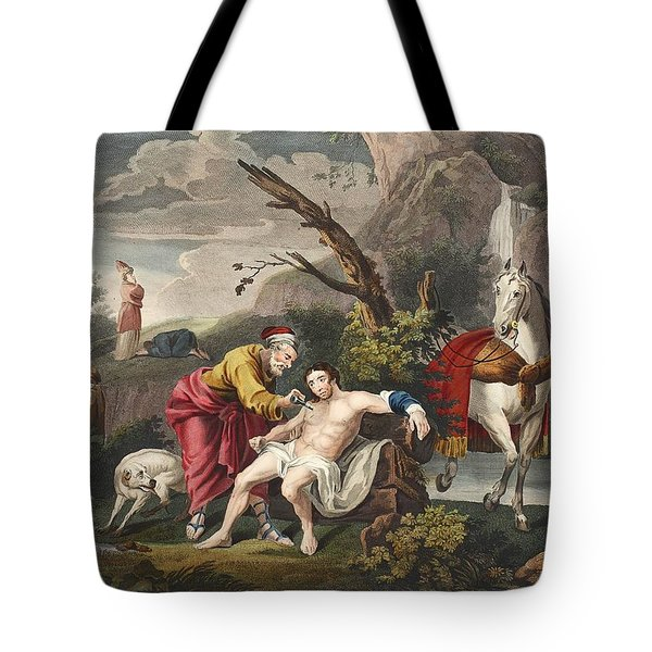 The Good Samaritan, Illustration Tote Bag