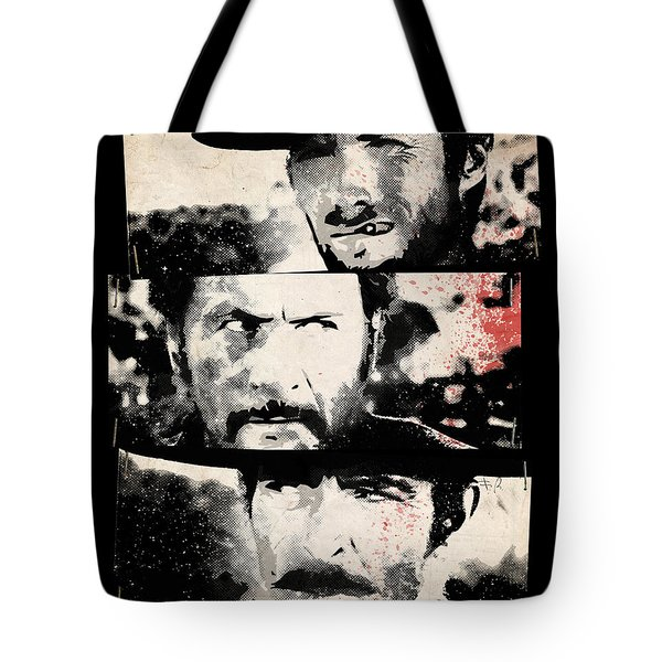 The Good The Bad And The Ugly Tote Bag