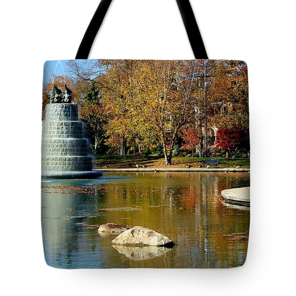 The Goodale Park  Fountain Tote Bag