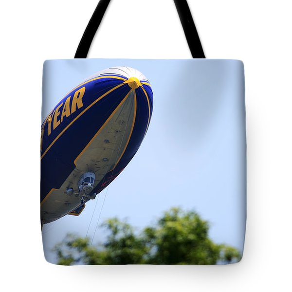 The Goodyear Blimp N3a Tote Bag