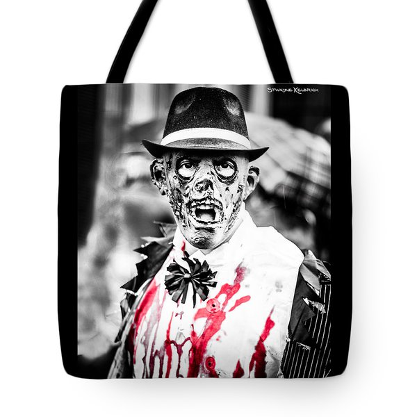 The Gory Creepy Zombie  Tote Bag