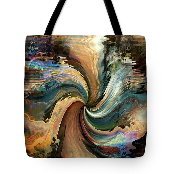 Tote Bag featuring the digital art The Grand Beyond by Kim Redd