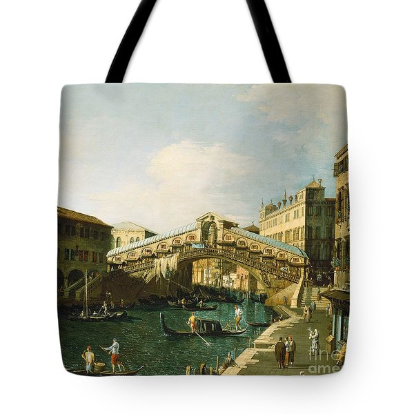 The Grand Canal   Venice Tote Bag by Canaletto