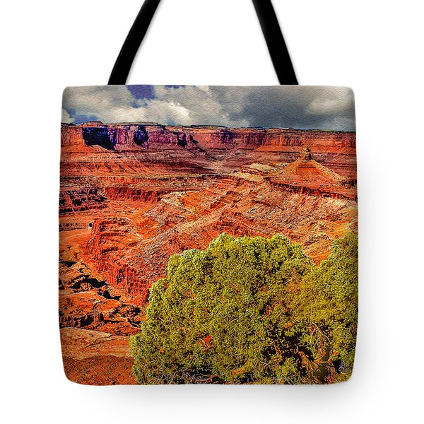 The Grand Canyon Dead Horse Point Tote Bag