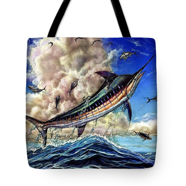The Grand Challenge  Marlin Tote Bag by Terry Fox