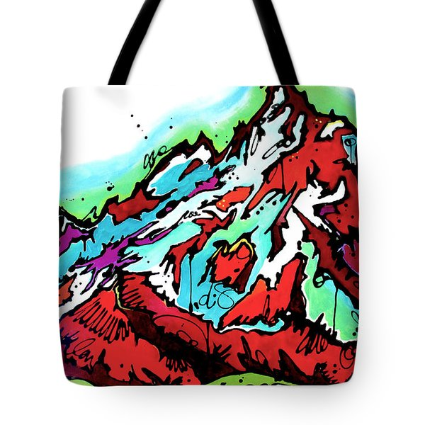 The Grand From Jackson Lake Tote Bag by Nicole Gaitan