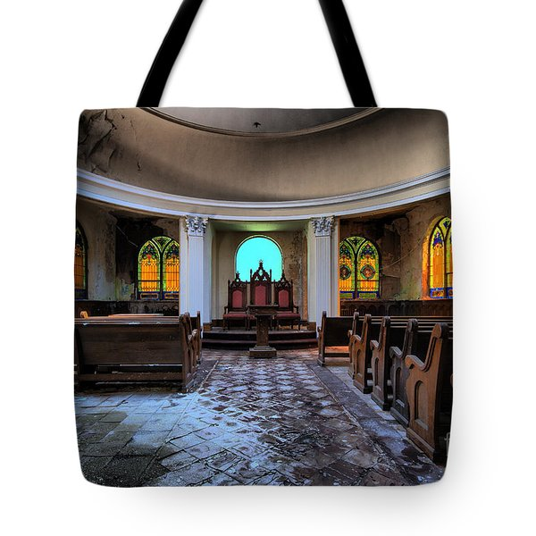 The Grand Geometrician Of The Universe Tote Bag