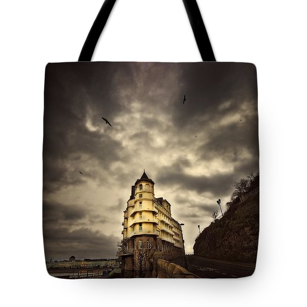 Tote Bag featuring the photograph The Grand by Meirion Matthias