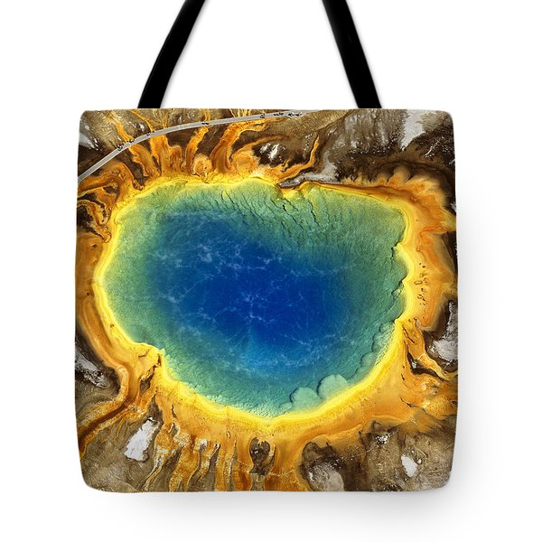 The Grand Prismatic Tote Bag by Timm Chapman