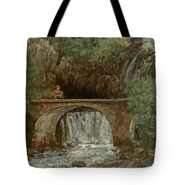 The Great Bridge, 1864 Tote Bag by Gustave Courbet
