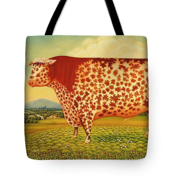 The Great Bull Tote Bag by Frances Broomfield