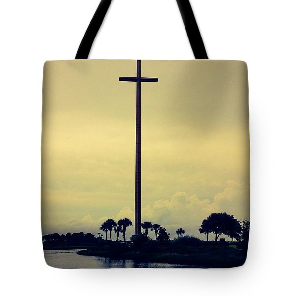 The Great Cross Tote Bag