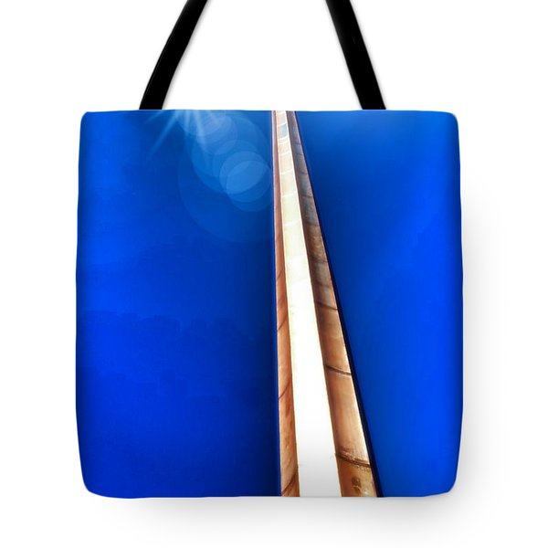 The Great Cross Of St. Augustine - Mission Nombre De Dios Tote Bag