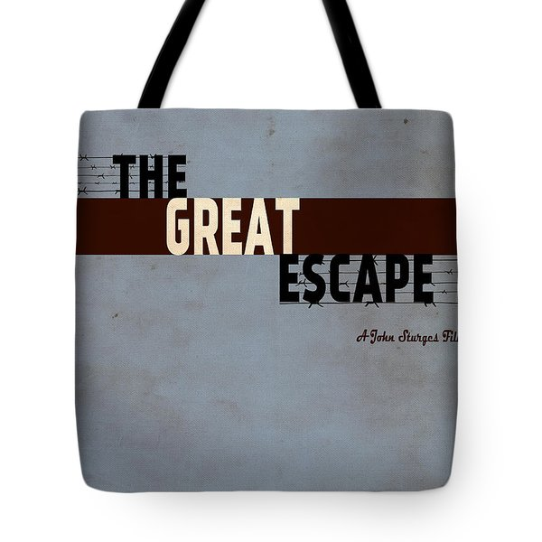 The Great Escape Tote Bag by Inspirowl Design