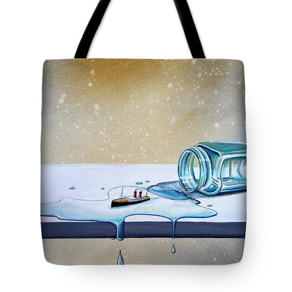 The Great Escape Tote Bag by Cindy Thornton
