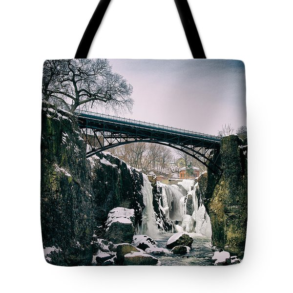 The Great Falls Of Paterson Tote Bag
