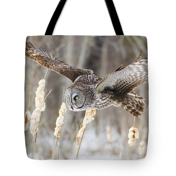 The Great Grey Hunter Tote Bag