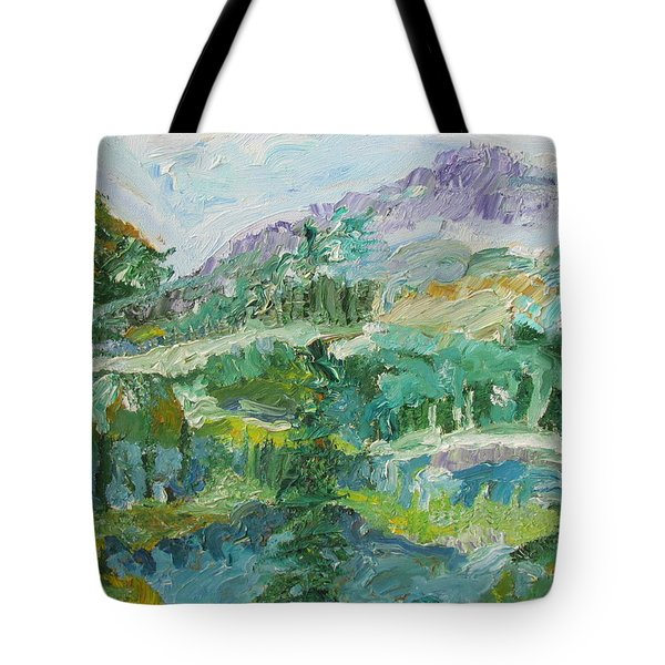 The Great Land Tote Bag