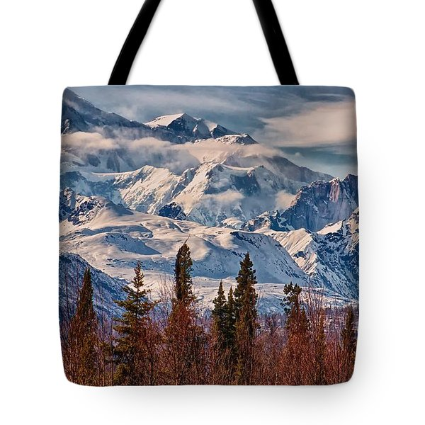 Tote Bag featuring the photograph The Great One by Michael Rogers