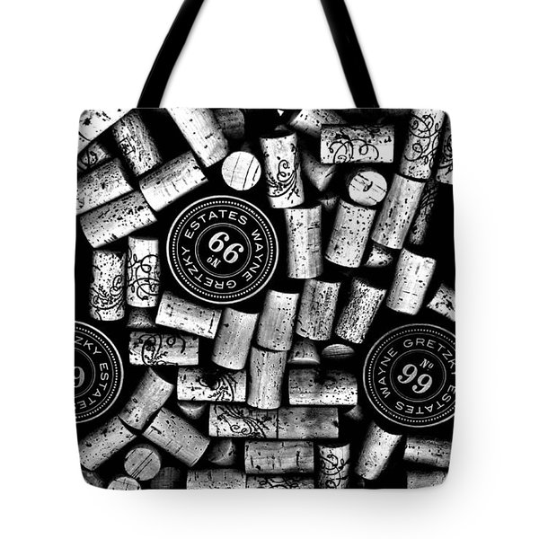The Great One - Wayne Gretzky Estate Wines Tote Bag by Andrea Kollo