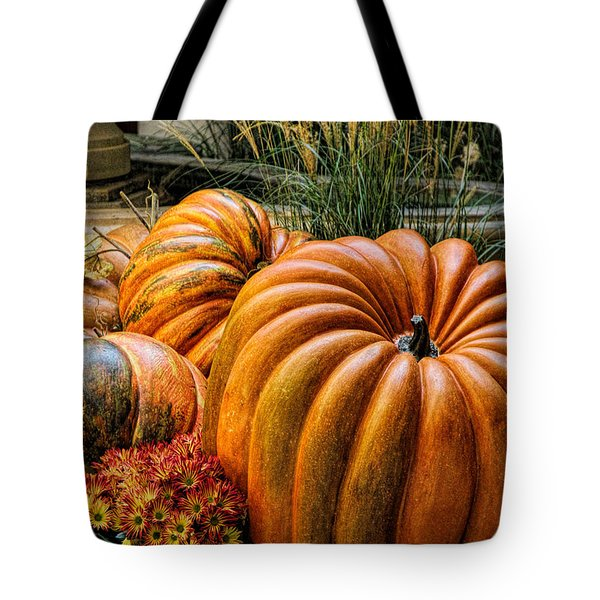 The Great Pumpkin Tote Bag by Tammy Espino