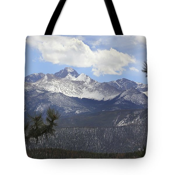 The Rocky Mountains - Colorado Tote Bag by Mike McGlothlen