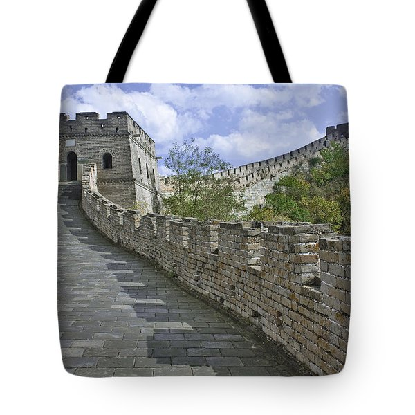 The Great Wall Of China At Mutianyu 1 Tote Bag