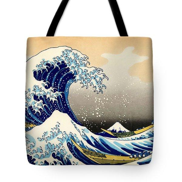 The Great Wave At Kanagawa Tote Bag