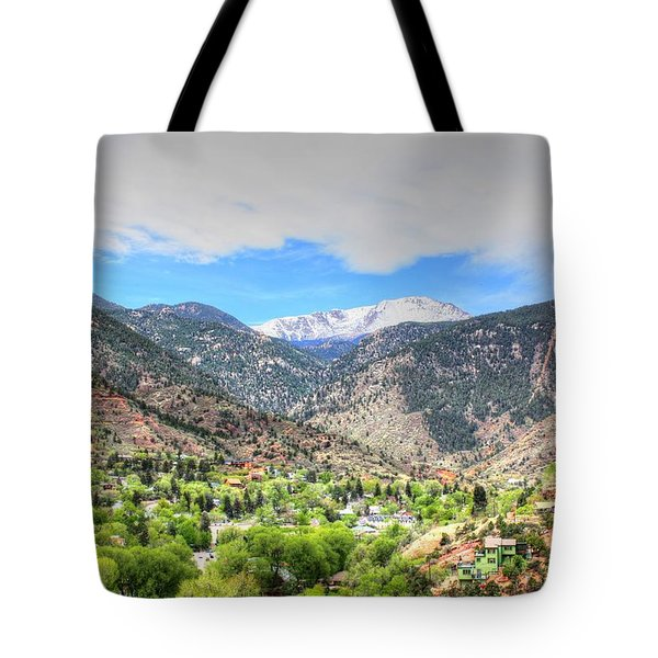 The Great White Shining Mountain Tote Bag