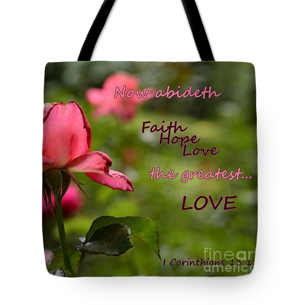 The Greatest Love Tote Bag