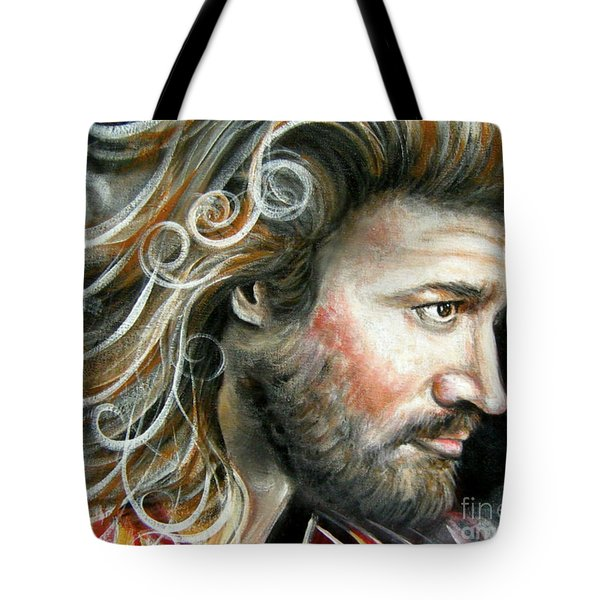 The Greatest Man In The World Tote Bag