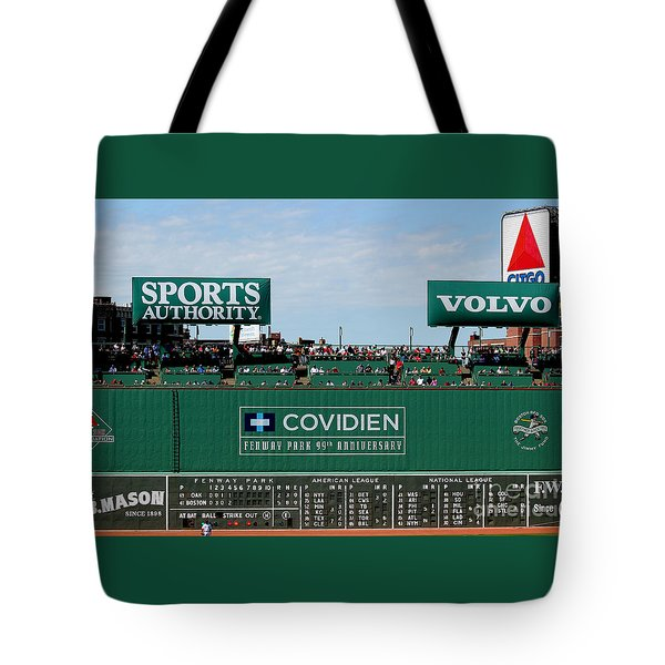 The Green Monster 99 Tote Bag