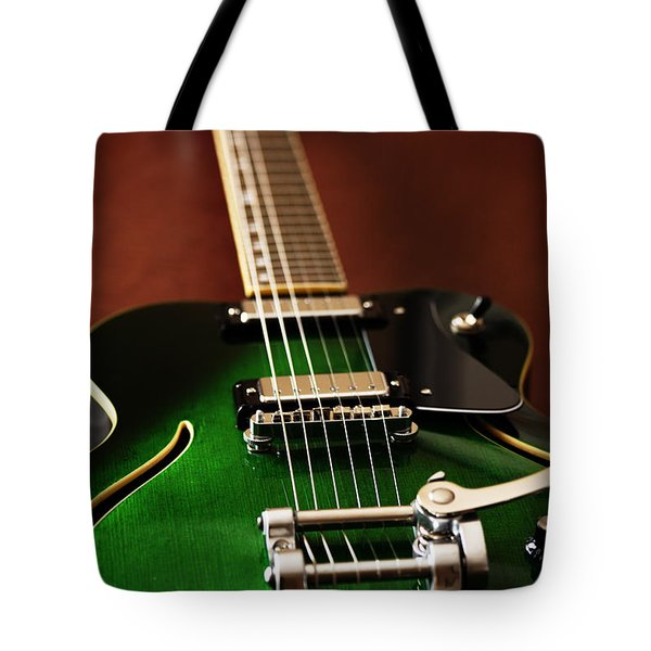The Green One Tote Bag by Karol Livote