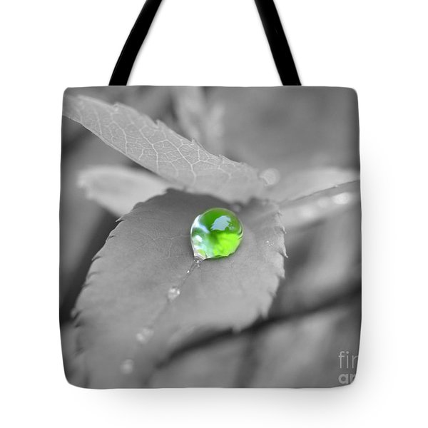 The Green Pearl Tote Bag by Patti Whitten