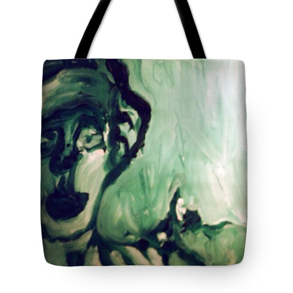 The Green Queen Tote Bag
