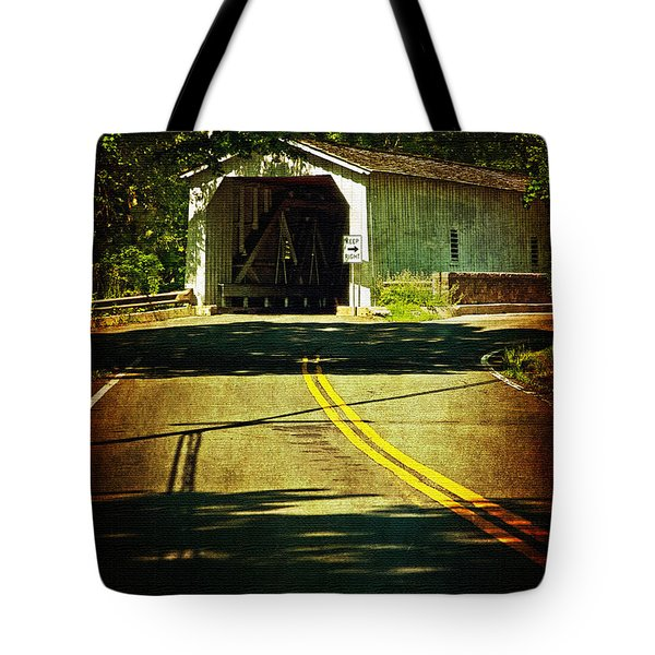 The Green Sergeants Covered Bridge Tote Bag