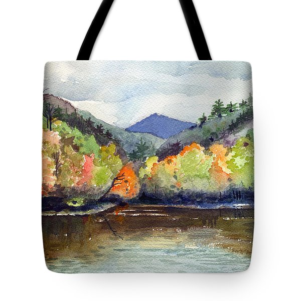 The Greenbriar River Tote Bag by Katherine Miller