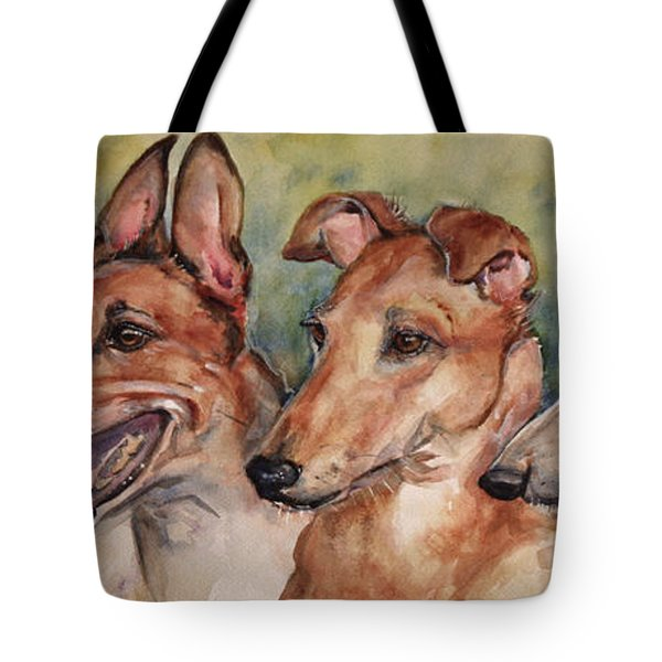 The Greyhounds Tote Bag