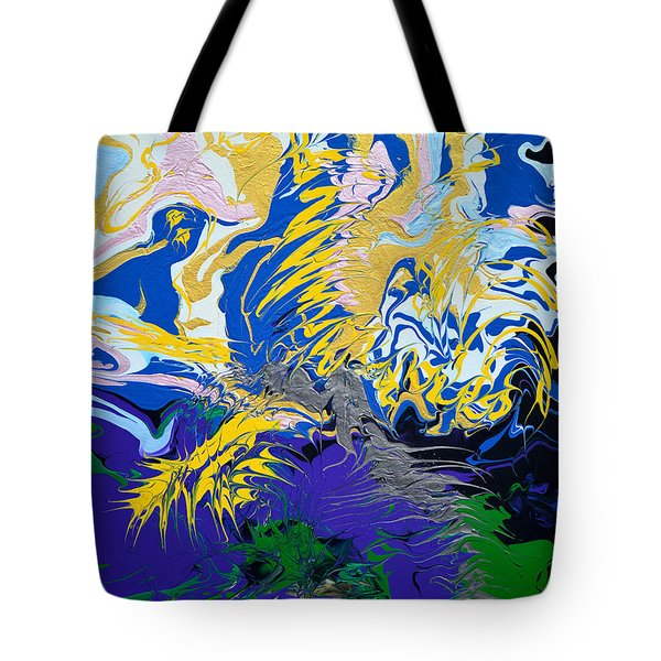 The Grinch's Thunder Tote Bag by Donna Blackhall