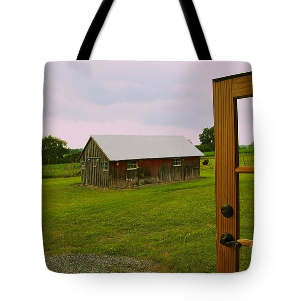 The Grounds Tote Bag by William Norton