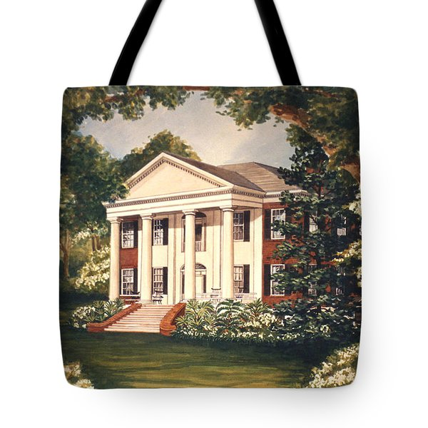 The Grove Tallahassee Florida Tote Bag by Audrey Peaty