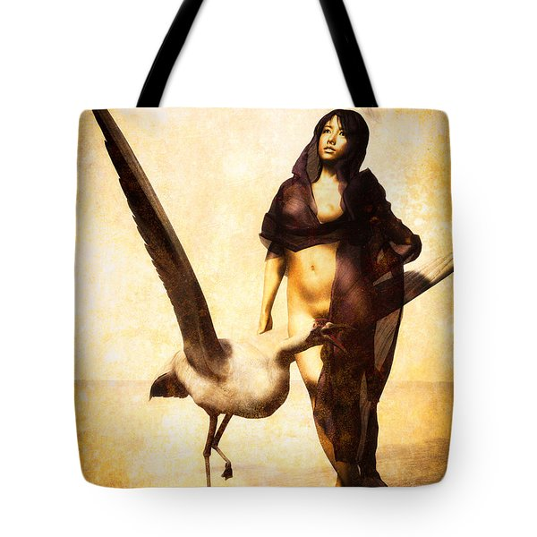 The Guardian Tote Bag by Bob Orsillo