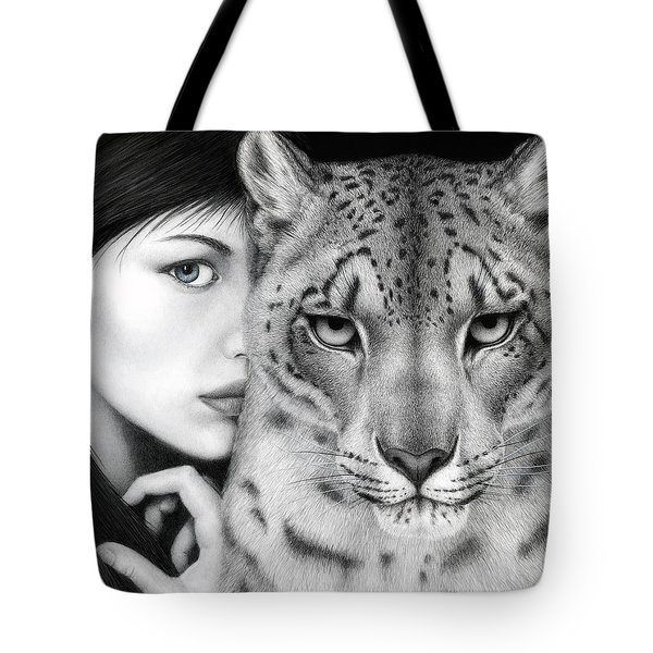 The Guardian Tote Bag by Pat Erickson