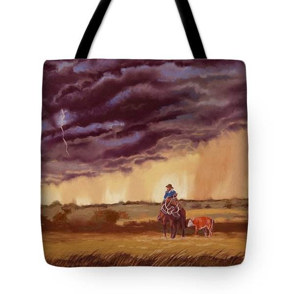 The Guardian Tote Bag by Tanya Provines
