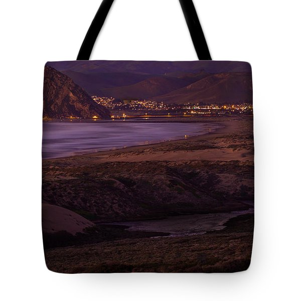 The Guardian--- Morro Bay Tote Bag by Tim Bryan