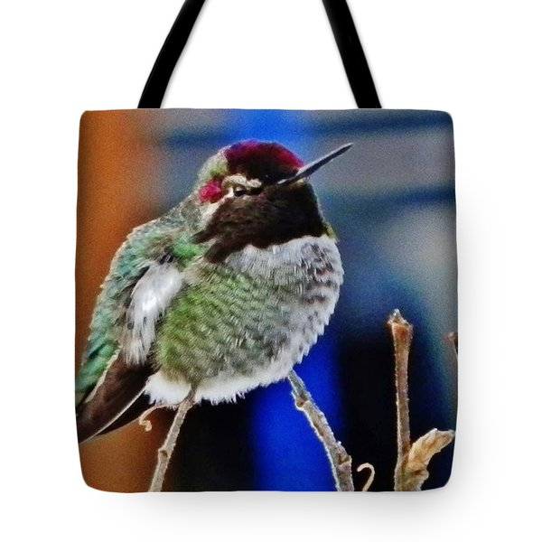 Tote Bag featuring the photograph The Guardian by VLee Watson