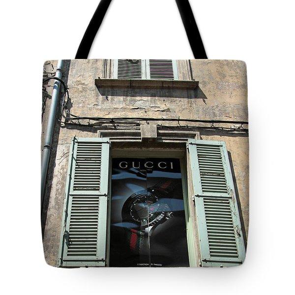 The Gucci Window Tote Bag